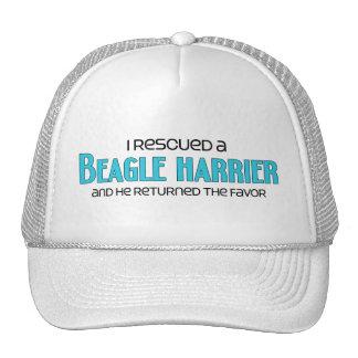 I Rescued a Beagle Harrier (Male Dog) Trucker Hat