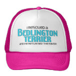 I Rescued a Bedlington Terrier (Male Dog) Trucker Hat