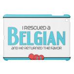 I Rescued a Belgian (Male Horse) iPad Mini Cover