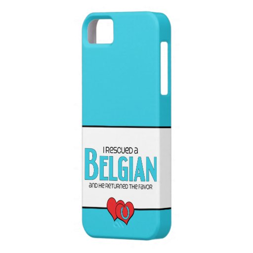 I Rescued a Belgian (Male Horse) iPhone 5 Covers