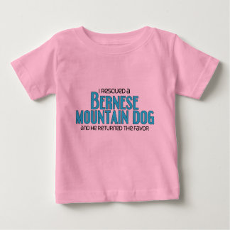 I Rescued a Bernese Mountain Dog (Male Dog) Baby T-Shirt