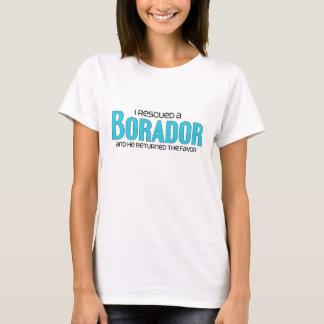 I Rescued a Borador (Male) Dog Adoption Design T-Shirt