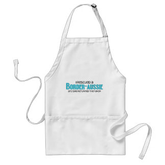 I Rescued a Border-Aussie (Female) Dog Adoption Adult Apron