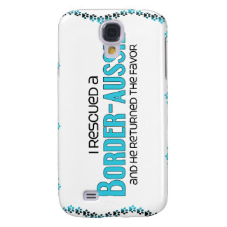 I Rescued a Border-Aussie (Male) Dog Adoption Galaxy S4 Covers