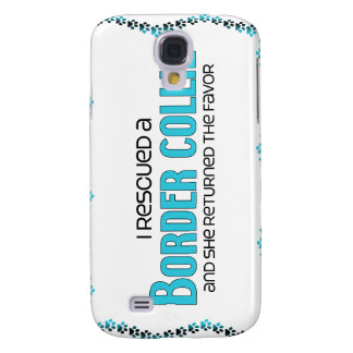 I Rescued a Border Collie (Female Dog) Samsung Galaxy S4 Cases