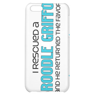 I Rescued a Broodle Griffon (Male) Dog Adoption Case For iPhone 5C