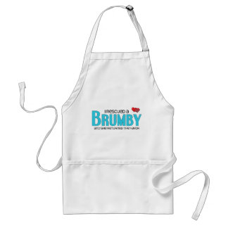 I Rescued a Brumby (Female Horse) Apron