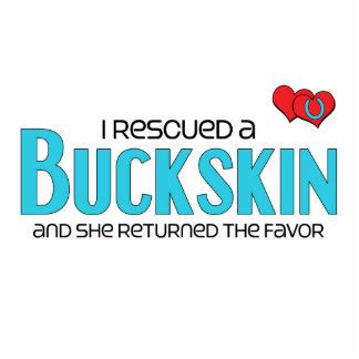 I Rescued a Buckskin (Female Horse) Photo Cutouts