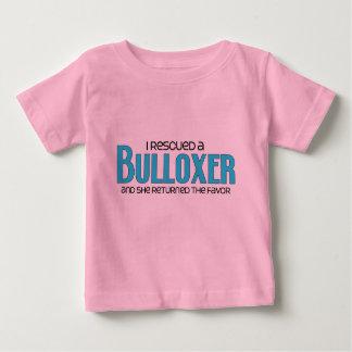 I Rescued a Bulloxer (Female) Dog Adoption Design T-shirt