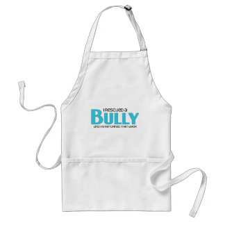 I Rescued a Bully Breed (Male Dog) Adult Apron