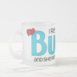 I Rescued a Burro (Female Burro) Coffee Mugs