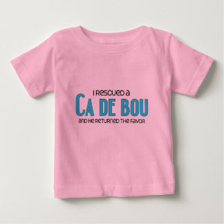 I Rescued a Ca de Bou (Male Dog) Baby T-Shirt