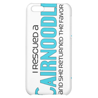 I Rescued a Cairnoodle (Female) Dog Adoption iPhone 5C Cases