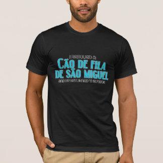 I Rescued a Cão de Fila de São Miguel (Male Dog) T-Shirt