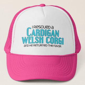 I Rescued a Cardigan Welsh Corgi (Male Dog) Trucker Hat