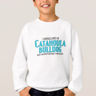 I Rescued a Catahoula Bulldog (Male) Dog Adoption Sweatshirt