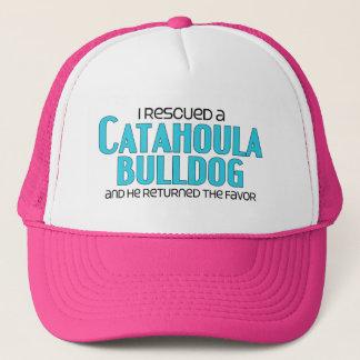 I Rescued a Catahoula Bulldog (Male) Dog Adoption Trucker Hat