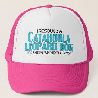 I Rescued a Catahoula Leopard Dog (Female Dog) Trucker Hat
