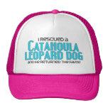 I Rescued a Catahoula Leopard Dog (Male Dog) Hat
