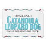 I Rescued a Catahoula Leopard Dog (Male Dog) Cover For The iPad Mini