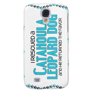 I Rescued a Catahoula Leopard Dog (Male Dog) Samsung Galaxy S4 Cover