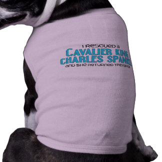 I Rescued a Cavalier King Charles Spaniel (Female) Tee