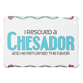 I Rescued a Chesador (Male) Dog Adoption Design Case For The iPad Mini