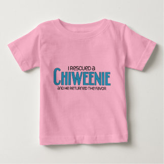 I Rescued a Chiweenie (Male) Dog Adoption Design Shirts