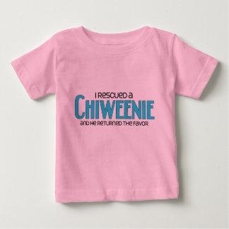 I Rescued a Chiweenie (Male) Dog Adoption Design Shirts