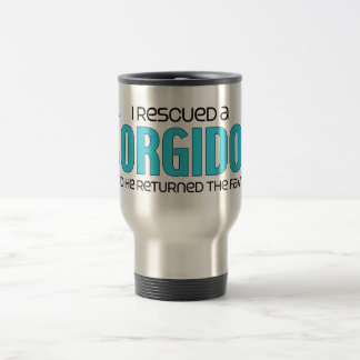 I Rescued a Corgidor (Male) Dog Adoption Design Coffee Mug