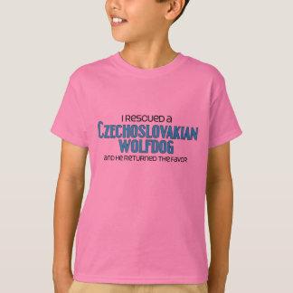 I Rescued a Czechoslovakian Wolfdog (Male Dog) T-Shirt
