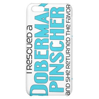 I Rescued a Doberman Pinscher (Female Dog) iPhone 5C Cases