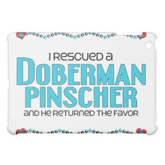 I Rescued a Doberman Pinscher (Male Dog) iPad Mini Covers