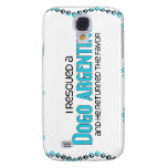 I Rescued a Dogo Argentino (Male Dog) Samsung Galaxy S4 Covers