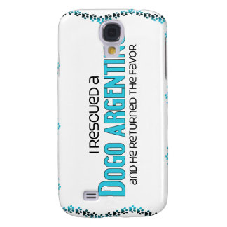 I Rescued a Dogo Argentino (Male Dog) Samsung Galaxy S4 Cover