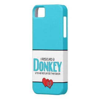 I Rescued a Donkey (Male Donkey) iPhone SE/5/5s Case