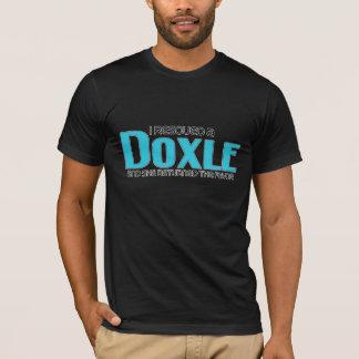 I Rescued a Doxle (Female) Dog Adoption Design T-Shirt