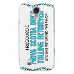 I Rescued a Duck Tolling Retriever (Female Dog) Samsung Galaxy S4 Cases