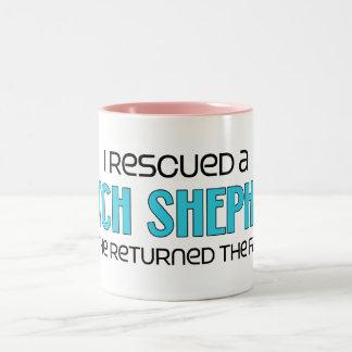 I Rescued a Dutch Shepherd (Male Dog) Mug