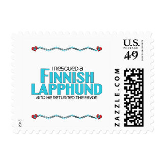 I Rescued a Finnish Lapphund (Male Dog) Postage
