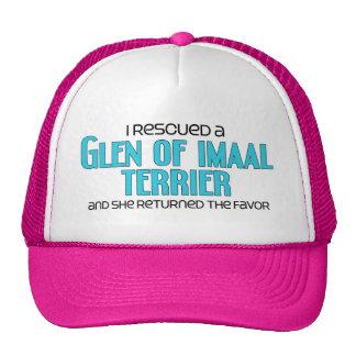 I Rescued a Glen of Imaal Terrier (Female Dog) Trucker Hat
