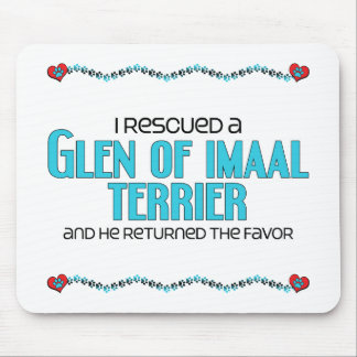 I Rescued a Glen of Imaal Terrier (Male Dog) Mouse Pad