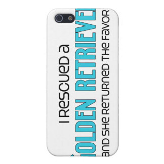 I Rescued a Golden Retriever (Female Dog) Cases For iPhone 5