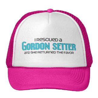 I Rescued a Gordon Setter (Female Dog) Trucker Hat