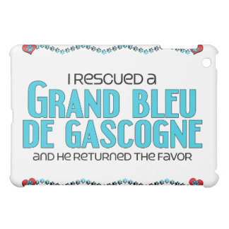 I Rescued a Grand Bleu de Gascogne (Male Dog) Cover For The iPad Mini