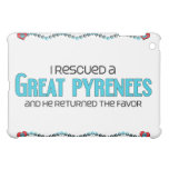 I Rescued a Great Pyrenees (Male Dog) iPad Mini Case