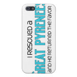 I Rescued a Great Pyrenees (Male Dog) Cases For iPhone 5