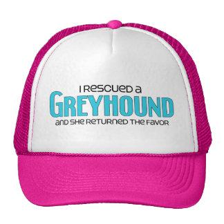I Rescued a Greyhound (Female Dog) Trucker Hat