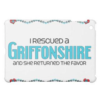 I Rescued a Griffonshire (Female) Dog Adoption Cover For The iPad Mini