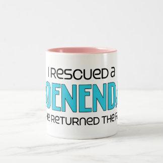 I Rescued a Groenendael (Male Dog) Mug
